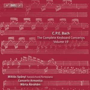 C P E Bach - Complete Keyboard Concertos, Volume 19