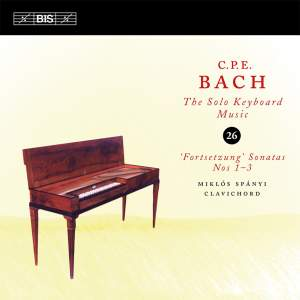 C P E Bach - Solo Keyboard Music Volume 26