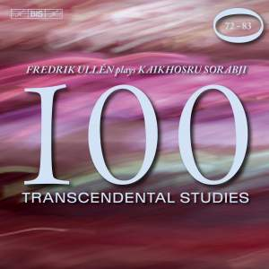 Sorabji - 100 Transcendental Studies, Volume 5