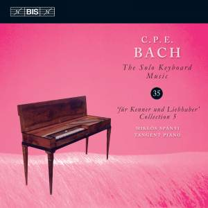 C P E Bach - Solo Keyboard Music Volume 35