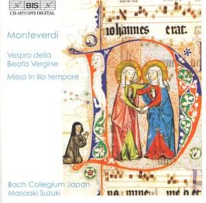 Monteverdi: Vespro della beata Vergine (1610), etc.