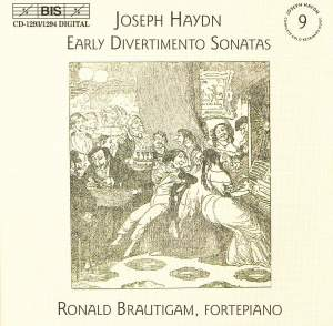 Haydn - Complete Solo Keyboard Music, Vol.9 - Early Divertimento Sonatas