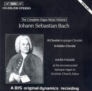 J.S. Bach - Complete Organ Music, Volume 1