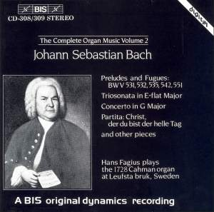 J.S. Bach - Complete Organ Music, Volume 2