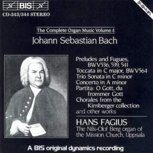 J.S. Bach - Complete Organ Music, Volume 4
