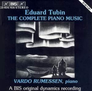 Eduard Tubin - Complete Piano Music
