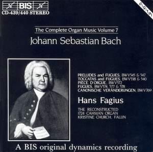 J.S. Bach - Complete Organ Music, Volume 7