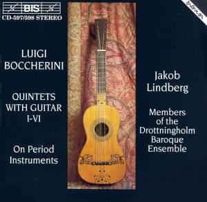 Boccherini: Six Guitar Quintets, G445-450