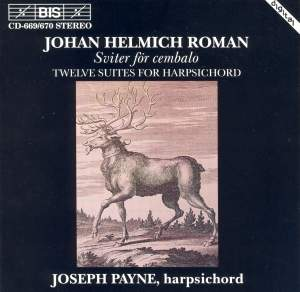 Roman: Twelve Suites for Harpsichord Product Image