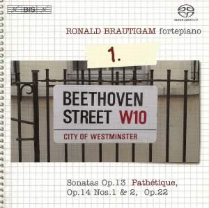 BEETHOVEN, L. van: Piano Works (Complete), Vol.  1 (Brautigam) - Sonatas Nos. 8-11