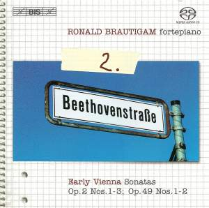 BEETHOVEN, L. van: Piano Works (Complete), Vol.  2 (Brautigam) - Sonatas Nos. 1-3, 19, 20