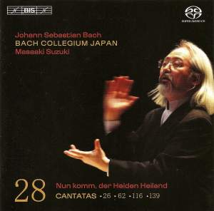 Bach - Cantatas Volume 28 Product Image