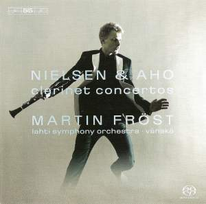 Nielsen & Aho Clarinet Concertos