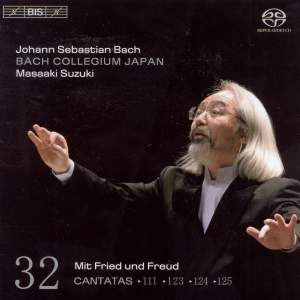 BACH, J.S.: Cantatas, Vol. 32 (Suzuki) - BWV 111, 123, 124, 125