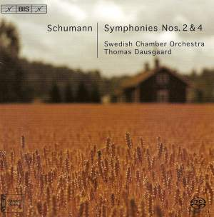 Schumann - Symphonies Nos. 2 & 4 Product Image
