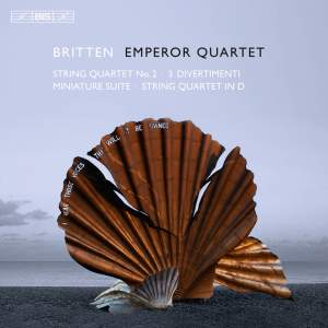 Britten: String Quartets Product Image