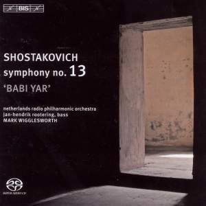 Shostakovich: Symphony No. 13 in B flat minor, Op. 113 'Babi Yar' Product Image