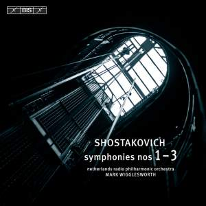 Shostakovich: Symphonies Nos. 1-3 Product Image