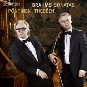BRAHMS, J.: Cello Sonatas Nos. 1 and 2 / Violin Sonata No. 1 (arr. P. Klengel for cello) (Thedeen, Pontinen)