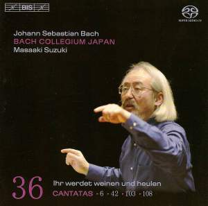 Bach - Cantatas Volume 36 Product Image