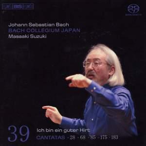 BACH, J.S.: Cantatas, Vol. 39 (Suzuki) - BWV 28, 68, 85, 175, 183