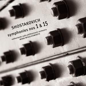 Shostakovich: Symphonies Nos. 1 & 15 Product Image