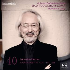 BACH, J.S.: Cantatas, Vol. 40 (Suzuki) - BWV 79, 137, 164, 168