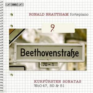 "BEETHOVEN, L. van: Piano Works (Complete), Vol.  9 (Brautigam) - WoO 47, ""Kurfurstensonaten"", 50, 51, Anh. 5"