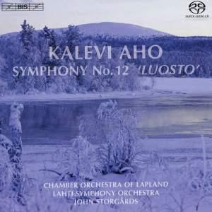"AHO, K.: Symphony No. 12, ""Luosto"" (Storgards)"