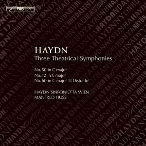 Haydn: Three Theatrical Symphonies Product Image