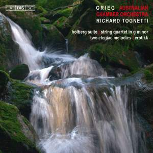 Grieg: Music for String Orchestra Product Image
