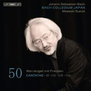 Bach - Cantatas Volume 50 Product Image