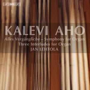 Kalevi Aho: Organ Music Product Image