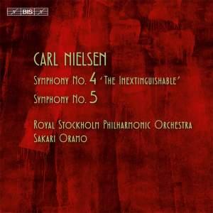 Nielsen: Symphonies Nos. 4 & 5 Product Image