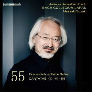 Bach - Cantatas Volume 55 Product Image