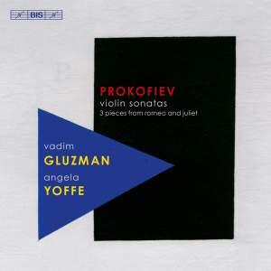 Prokofiev: Violin Sonatas Product Image