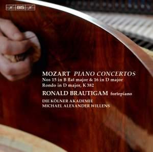 Mozart: Piano Concertos Nos. 15 & 16