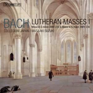JS Bach: Lutheran Masses I Product Image