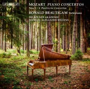 Mozart: Piano Concertos Nos. 1-4 'Pasticcio Concertos'