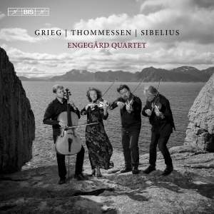 Grieg, Sibelius & Thommessen: String Quartets