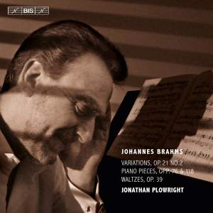 Brahms: Works for Solo Piano Volume 3