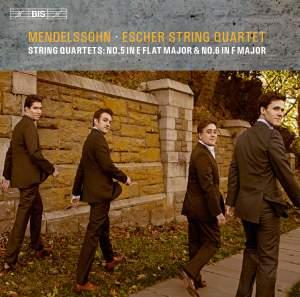 Mendelssohn: String Quartets Nos. 5 & 6 Product Image