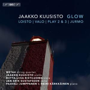 Glow: Chamber Music by Jaakko Kuusisto