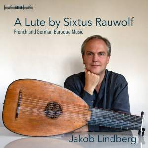 A Lute by Sixtus Rauwolf