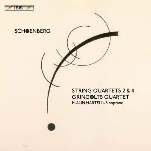 Schoenberg: String Quartets Nos. 2 & 4