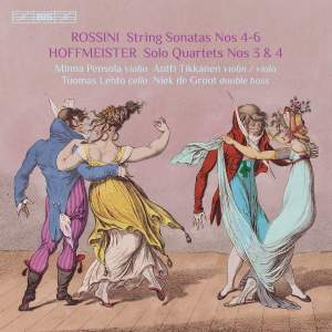 Rossini & Hoffmeister: Quartets with Double Bass, Vol. 2 Product Image