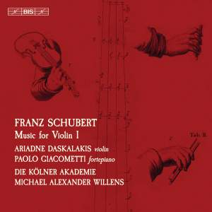 Schubert: Music for Violin, Vol. 1 Product Image