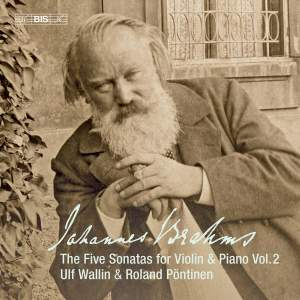 Brahms: The Five Sonatas for Violin & Piano Vol. 2 Product Image