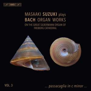 Masaaki Suzuki plays Bach Organ Works, Vol. 3 Product Image