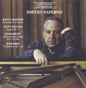 Dmitry Paperno plays Beethoven, Brahms, Busoni and Schubert Product Image
